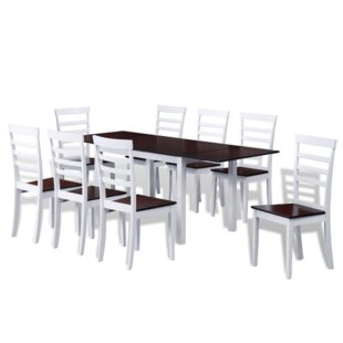 9 Piece Drop Leaf Dining Set by Winston P..