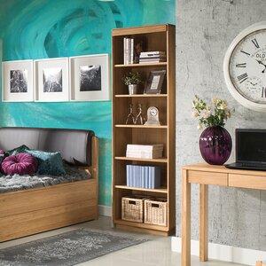 200,7 cm Bücherregal Burgett von Marlow Home Co.
