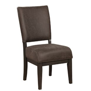 Ravenwood Upholstered Dining Chair (Set of 2) Loon Peak