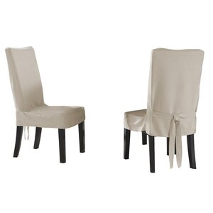 Dining Chair Short Slipcover