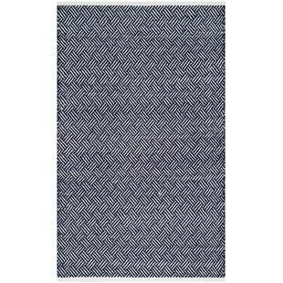 Boston Hand Woven Navy Area Rug