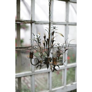 Bullrush 3-Light Candle-Style Chandelier