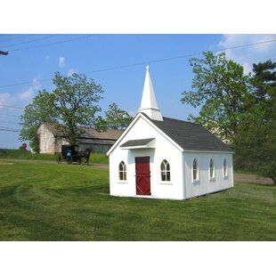 Chapel 8' X 8' Playhouse By Little Cottage Company