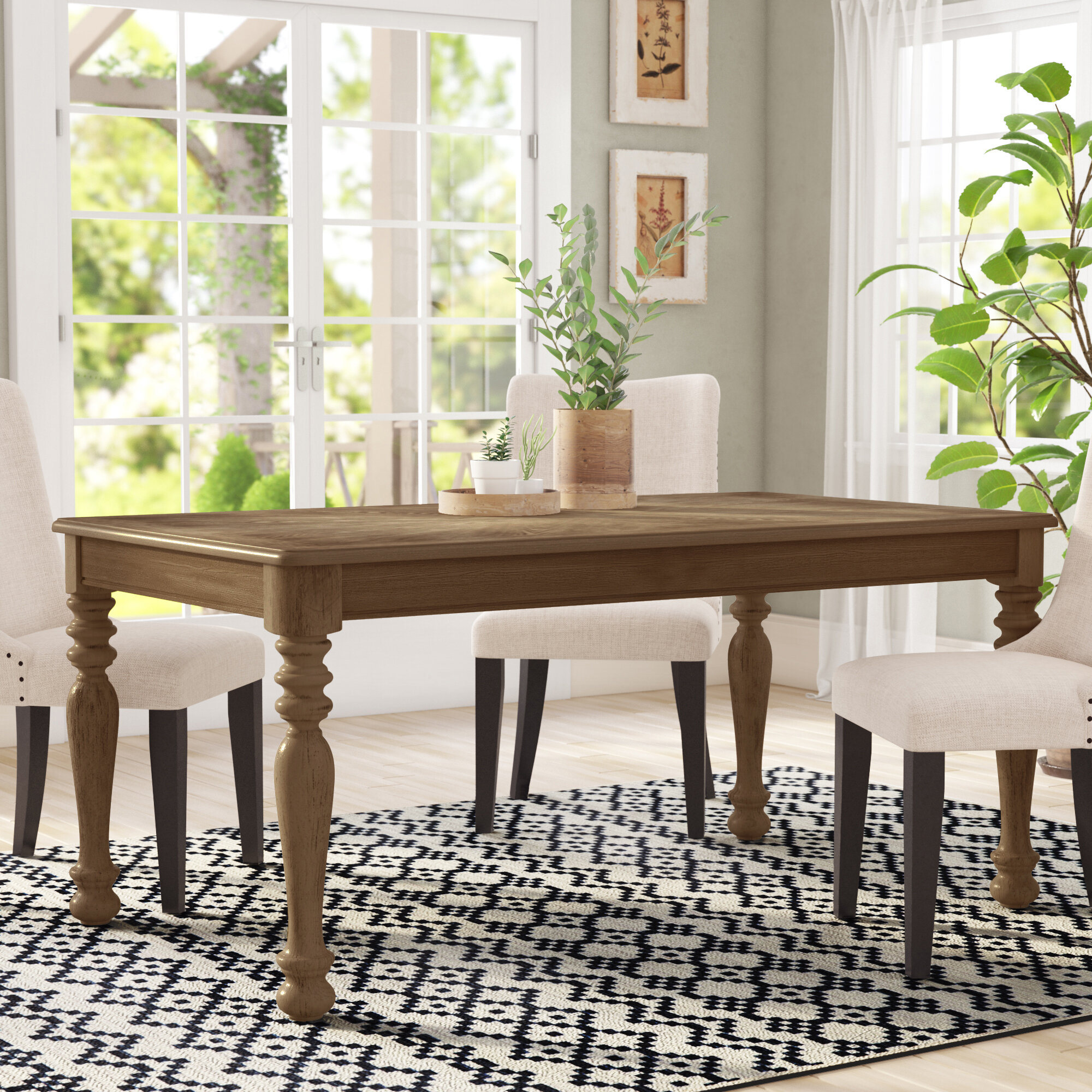 Bloomingdale Transitional Dining Table