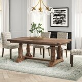 Axtellon Solid Wood Dining Table by Joss & Main