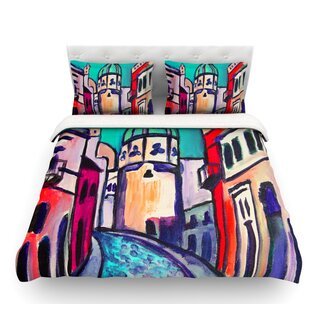 Procida by Theresa Giolzetti Featherweight Duvet Cover