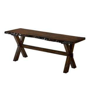 Rawson Wood Bench by Gracie Oaks