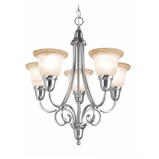 Willhite 5-Light Shaded Chandelier by Fleur De Lis Living