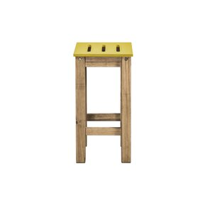 Best Choices Wiggin 24.8 Barstool (Set of 2) by Millwood Pines Reviews (2019) & Buyer's Guide