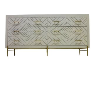 Wilbraham 6 Drawer Double Dresser