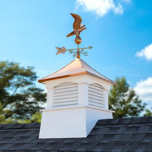 Coventry Vinyl Cupola With Eagle Weathervane By Good Directions