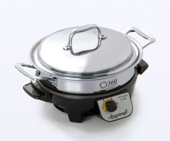 360 Cookware  Gourmet Slow Cooker  Capacity: 2.3-Qt.
