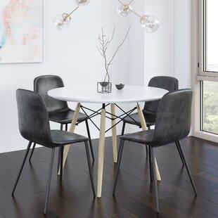 Modern Contemporary Corrado 5 Piece Dining Set Allmodern