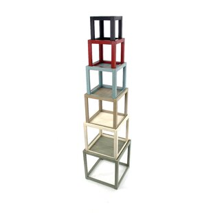 Pennsylvania Tower Cube Bookcase by August Grove