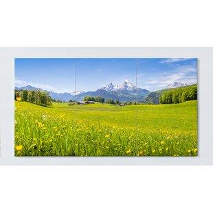 Mountain Meadow Magnetic Wall Mounted Cork Board By Ebern Designs