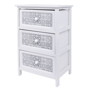 Ahrens 3 Drawer Chest By World Menagerie