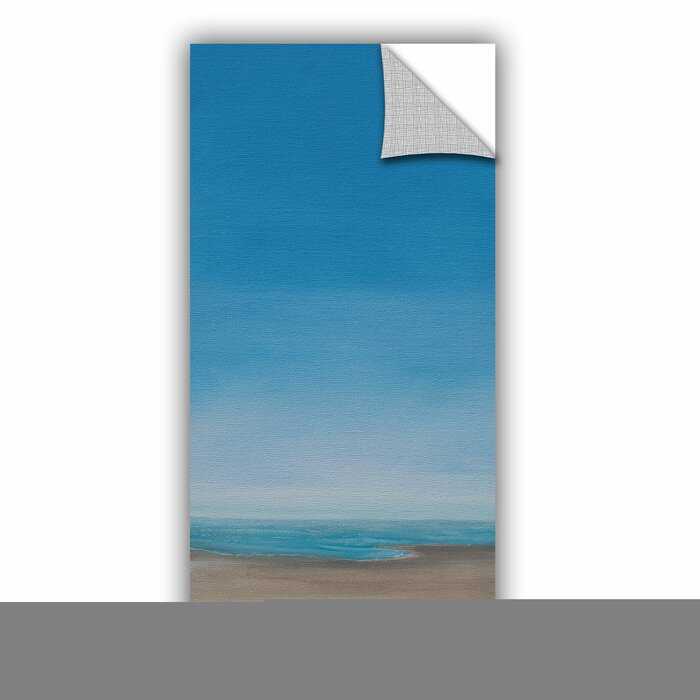 A M Beach Walk Removable Wall Decal