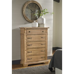 Rhian 5 Drawer Chest by Longshore Tides