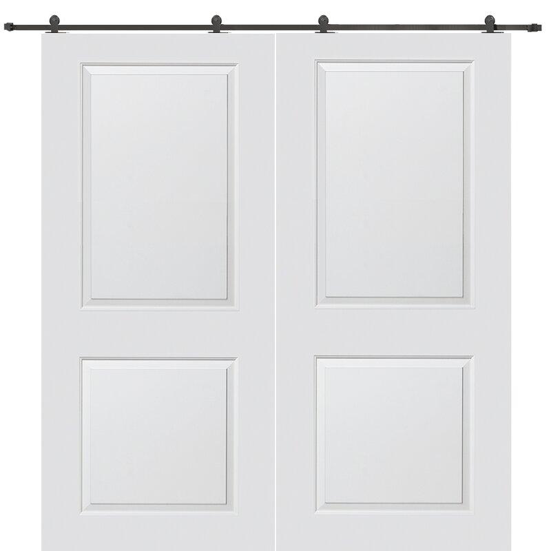 Verona Home Design Carrara Smooth Surface Solid Panelled Interior