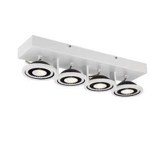 Vision 4-Light Semi Flush Mount by Eurofase