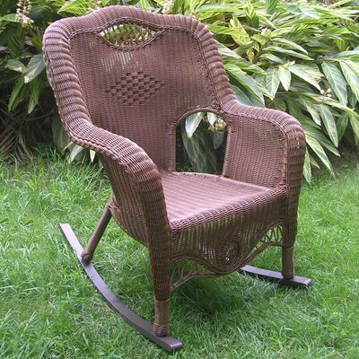 Awe Inspiring International Caravan Riviera Rocking Chair Machost Co Dining Chair Design Ideas Machostcouk