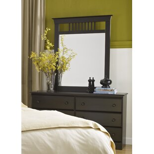 Reviews Washburn 6 Drawer Double Dresser with Mirror by Lang Furniture