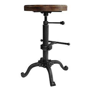 Hoggard Adjustable Height Swivel Bar Stool