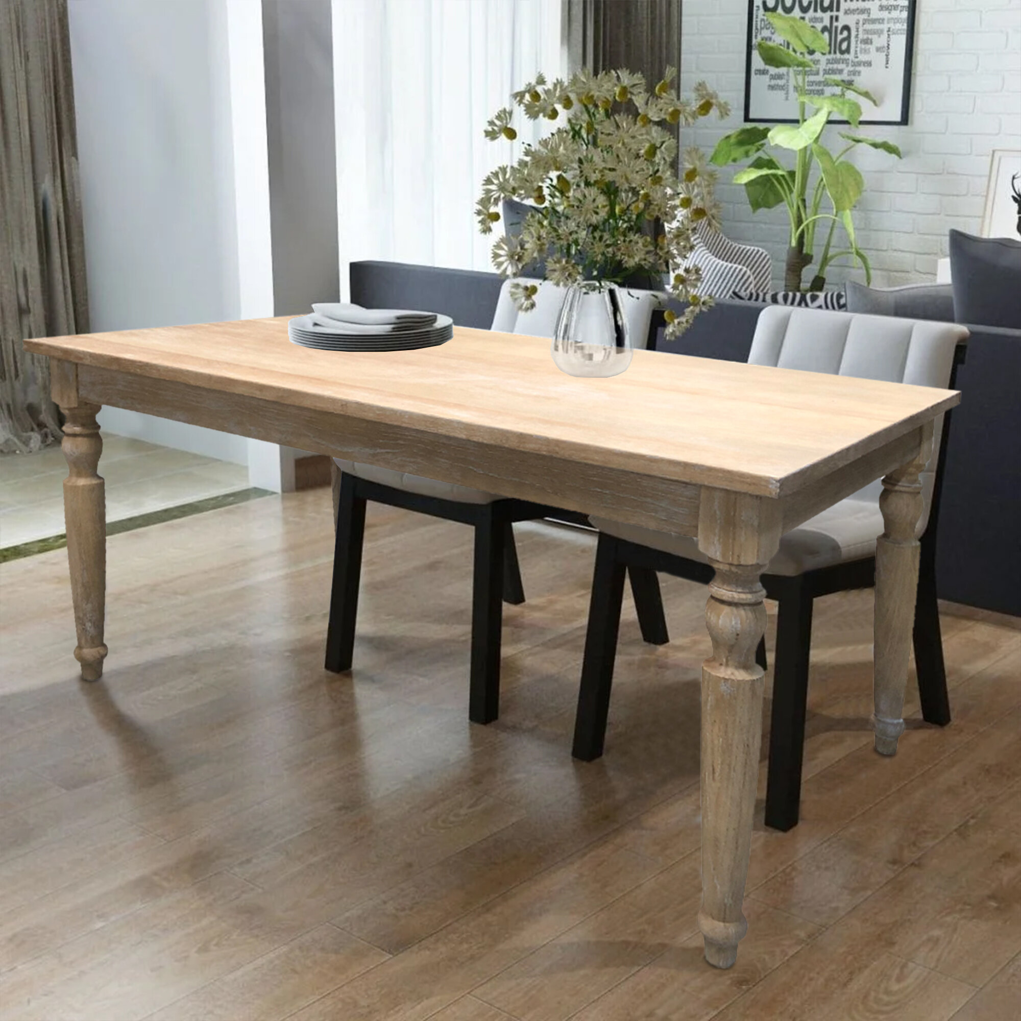 Wayfair Reclaimed Kitchen Dining Tables You Ll Love In 2021