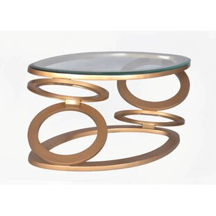 Raeann Disc Coffee Table by Latitude Run