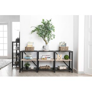Deal Industrial 2 Tier Etagere Bookcase Williston Forge
