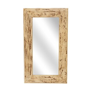 Union Rustic Rectangle Wood Accent Mirror