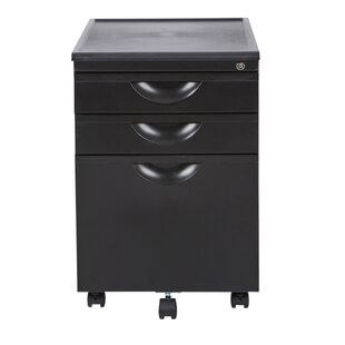 Lehto 3 Drawer Vertical Filing Cabinet