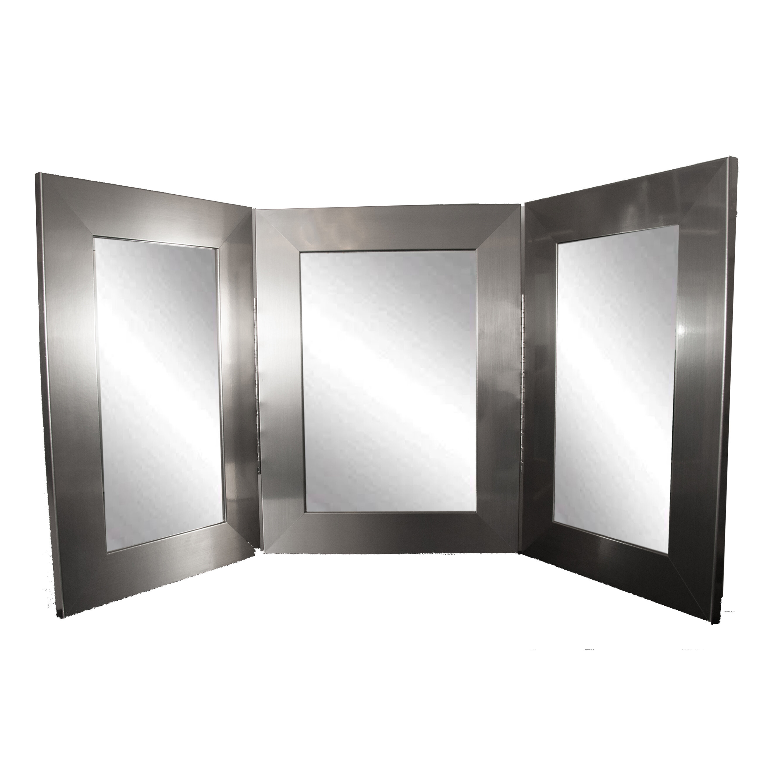Brandtworksllc Trifold Bathroom Vanity Mirror Wayfair