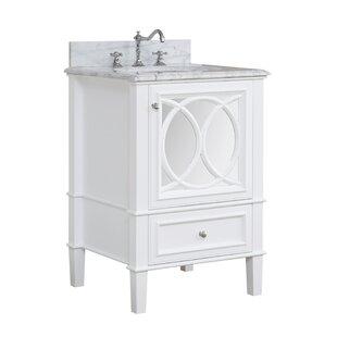 Olivia 24 Single Bathroom Vanity Set by Kitchen Bath Collection