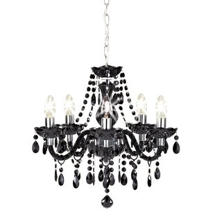 Black chandeliers wayfair black chandeliers aloadofball Images