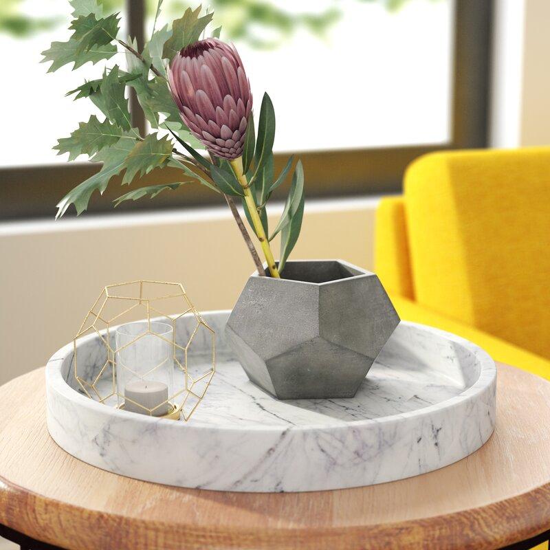 Elizabeth Hales Design Geometric Table Vase Reviews Wayfair