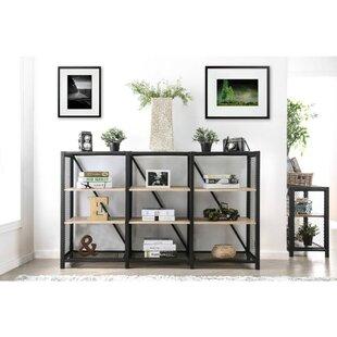 Rubalcava 3 Tier Etagere Bookcase
