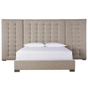 Garton Upholstered Panel Bed by Everly Quinn