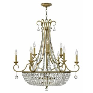 House of Hampton Lionel 12-Light Chandelier