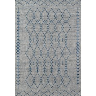 Momeni Villa Monaco Gray Indoor/Outdoor Area Rug