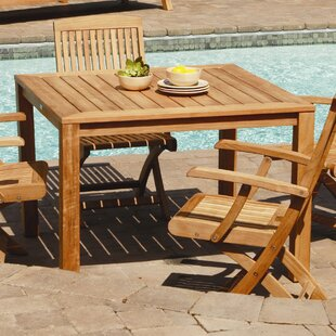 Three Birds Casual Newport Square Dining Table