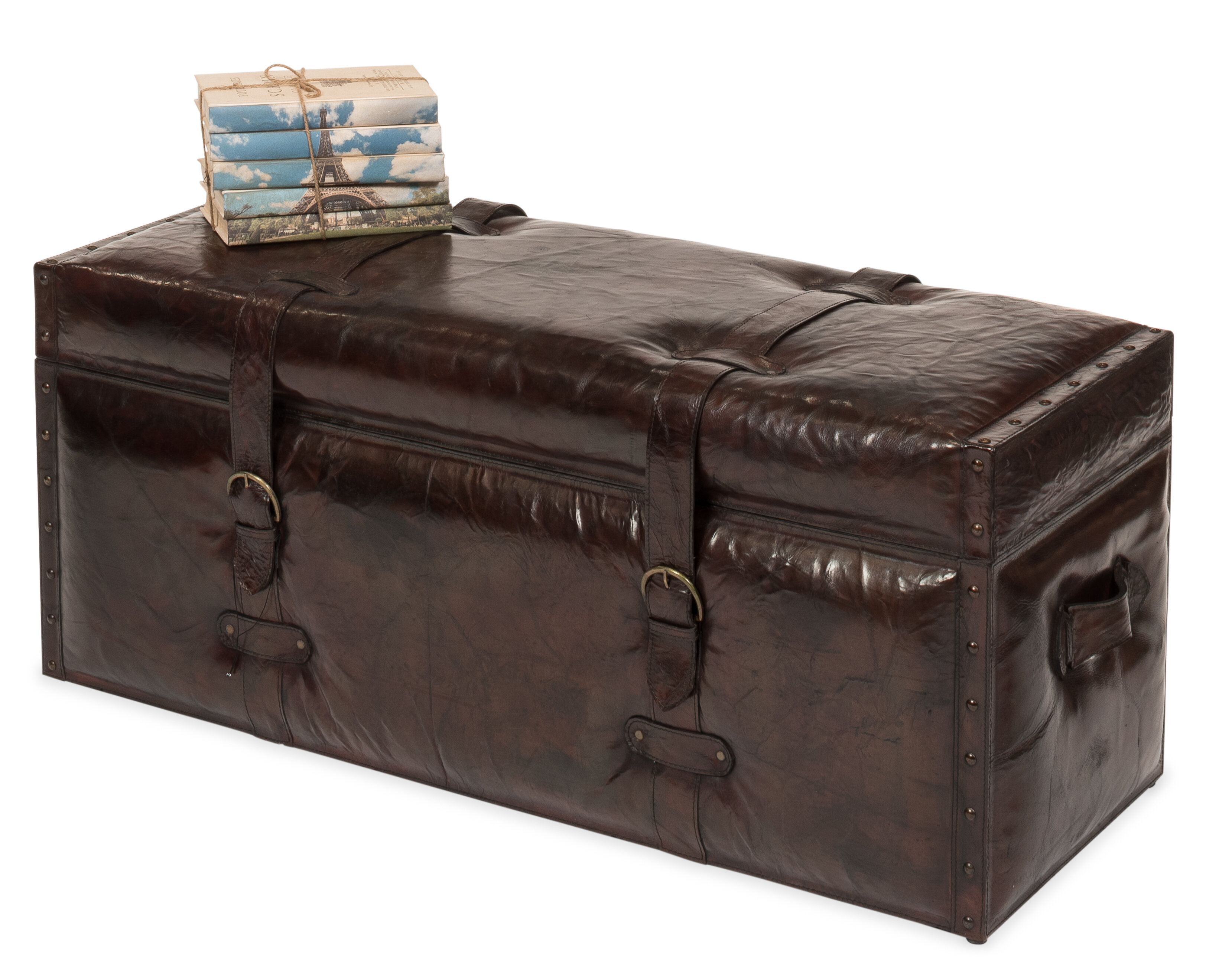 Brown Leather Storage Benches You Ll Love In 2021 Wayfair