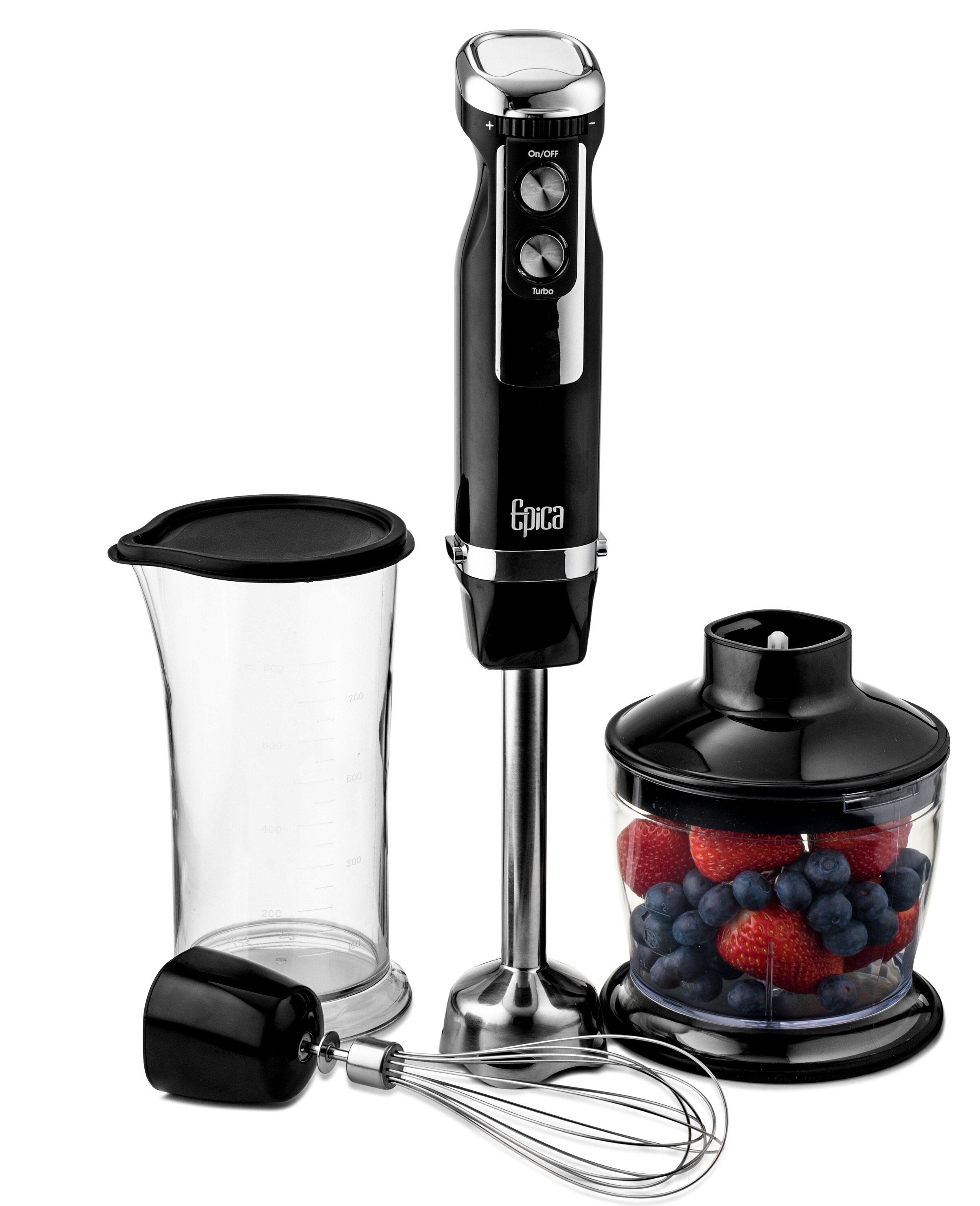 Epica 4 in 1 Heavy Duty Hand Blender & Reviews