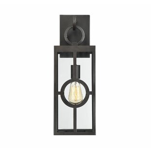 Gracie Oaks Wycoff LED Outdoor Wall Lantern