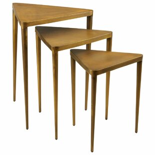 George 3 Piece Nest Of Tables By Bloomsbury Market