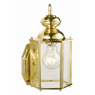 Compare & Buy Augusta 1-Light Outdoor Sconce By Design House