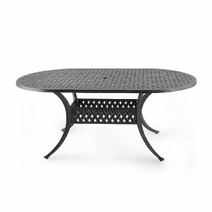 Cobblestone Metal Dining Table by NUU GARDEN CORPORATION