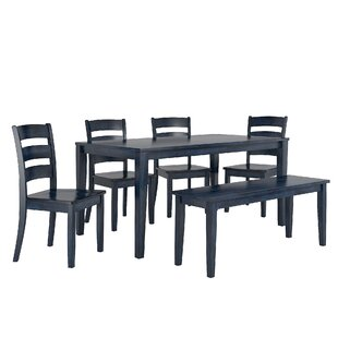 Alverson 6 Piece Dining Set August Grove