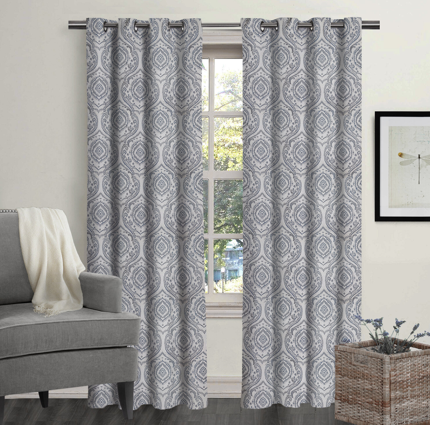Ikat Curtains Drapes You Ll Love In 2021 Wayfair