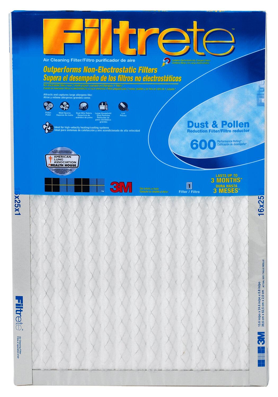 1900 Air-Filter Filtrete Blue Furnace Virus Odor Pet Dust 2,4,8 Maximum-Allergen